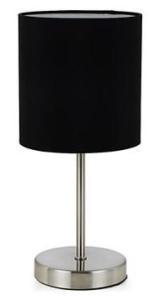 Abajur com Haste de Metal Lumina Preto - R$ 19,90
