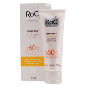 Minesol Actif Unify Fps 60 Roc - Protetor Solar Facial - 50g - R$55,40