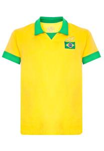 Camisa Polo Licenciados Futebol Retrô Brasil