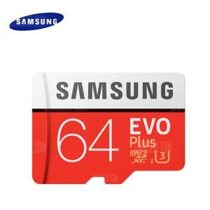 Original Samsung UHS-3 64GB Micro SDXC Memory Card  -  64GB  ORANGE - R$ 74