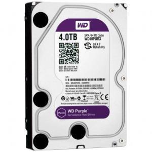 HD Interno WD Purple 4TB SATA III 6GB/s 5400 RPM WD40PURX - R$599,90