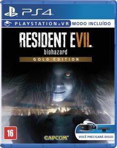 Jogo Resident Evil 7: Biohazard (Gold Edition) - PS4 - R$144,00