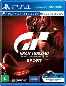 GRAN TURISMO SPORT - PS4 - MIDIA FISICA - R$ 120