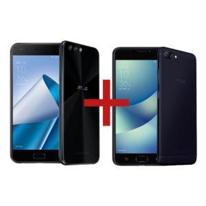 ZenFone 4 6GB/64GB Preto + Zenfone 4 Max 3GB/32GB Preto*** NESSE VALOR O ZENFONE  4 COM 6GB DE RAM SAIRA POR 1300 $  O MENOR JA VISTO