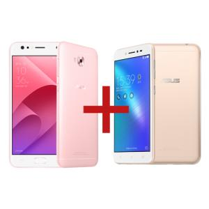 "ZenFone 4 Selfie 4GB/64GB Rose Gold + Zenfone Live DouradoTela:5,5"" HD IPSCâmera:16 MP / Dual: 20MP + 8MPMemória:64 GB / 4 GBConectividade:4G"
