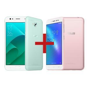 ZenFone 4 Selfie 4GB/64GB Mint Green + Zenfone Live Rosa