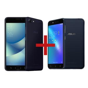 ZenFone 4 Max 3GB/32GB Preto + Zenfone Live Preto hdtv