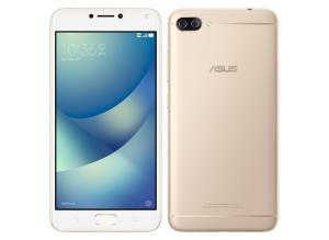 "Smartphone Asus Zenfone 4 Max ZC554KL Dual Chip Dourado Tela 5.5"" 4G+WiFi Android 7.0 Dual Câmera 13MP + 5MP 32GB - R$ 900"