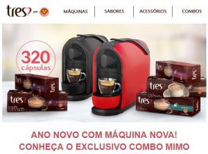 COMBO MIMO: Máquina + 320 cápsulas - R$ 499