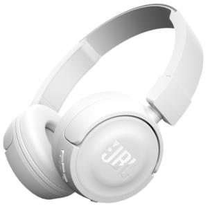 Fone de Ouvido Bluetooth JBL T450BT Com Microfone Branco - R$ 152