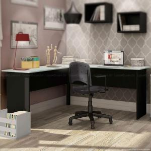 """Mesa de estudos em """"L"""" - Modelo New City - R$280,51"""