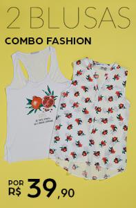 2 blusas femininas - R$39,90