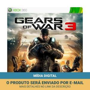 Jogo Gears of War 3 (Mídia Digital)  13,40 via boleto