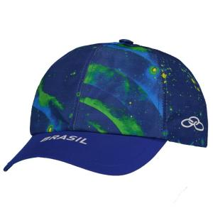 Boné Olympikus Brasil Vôlei CBV 2016 Azul