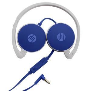 HeadFone com Microfone Dobrável HP Dragon Fly H2800 – Azul - R$60