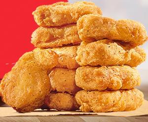 10 BK Chicken + Molho no Burger King - R$7