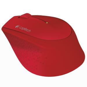 Mouse Sem Fio Logitech M280 Vermelho - R$37.90