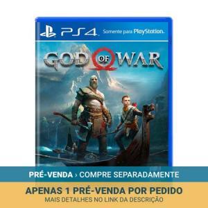 God of War - PS4 - Pré-Venda