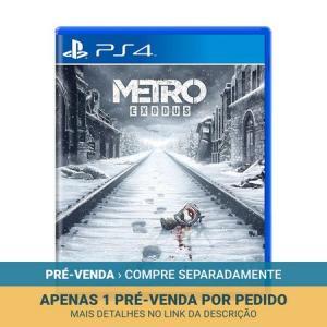[PRÉ VENDA] Metro: Exodus - PS4