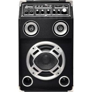 Caixa Amplificadora Multiuso Lenoxx CA 320 130W Karaokê USB/Cartão SD/ Entrada para Microfone - R$ 245