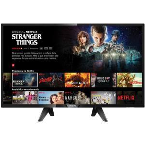 "[Cartão Shoptime] Smart TV LED 43"" Full-HD Philips 43PFG5102/78 3 HDMI 2 USB Wi-Fi 60Hz - R$1338"
