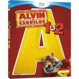 Alvin e Os Esquilos + Alvin e os Esquilos 2 - Blu-Ray - R$ 13