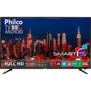 "[Cartão Shoptime] Smart TV LED 55"" Philco PH55A17DSGWA Full HD com Conversor Digital 3 HDMI 2 USB Wi-Fi - R$2090"