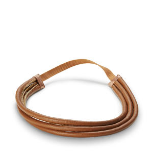 Tiara Triple Headband (Caramelo ou Preto)  R$13