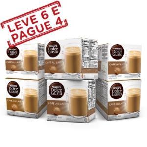 Nescafé Dolce Gusto - Combo de cápsulas - Leve 5, Pague 3 por R$66, Leve 6, Pague 4 por R$88