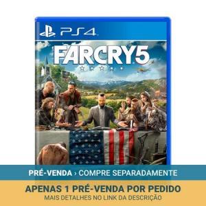 Far Cry 5 - PS4 - PRÉ-VENDA