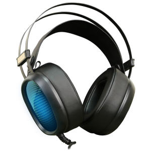 Headset Gamer USB MESH Poseidon 7.1 Canais Preto para PC - R$69