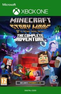 Minecraft Story Mode Complete Adventure - Midia Digital Xbox One