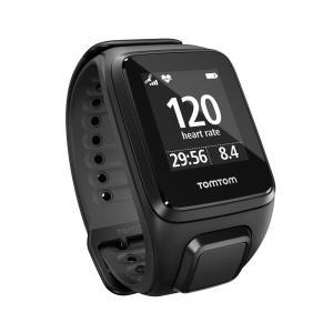 Relógio Tomtom Spark Music com GPS, à Prova d'água, 3GB, Bluetooth - Preto Large - R$743