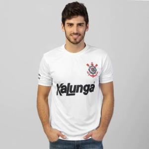 Camiseta Corinthians Inspirada 1988 - Branca - R$69,90