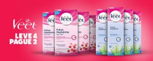 Especial Veet: leve 4 produtos pague 2