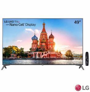 "Smart TV 4K LG LED 49"" Nano Cell™ Display, webOS 3.5, Harman/kardon, Controle Smart Magic"