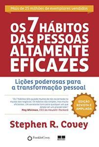 Os 7 Hábitos das Pessoas Altamente Eficazes - Edição Customizada - R$19