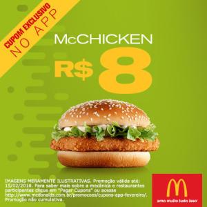 McChicken do McDonald's - R$8