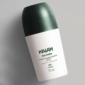 5 desodorantes Roll On  Kaiak (feminino ou masculino) - R$41 (R$8,20 cada)