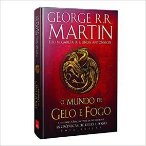 O Mundo de Gelo e Fogo - Nova Edição Exclusiva Amazon + Genealogia das grandes casas de Westeros - Capa dura - R$89