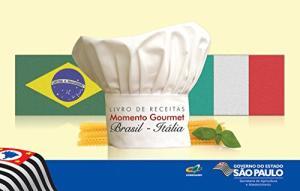 """Livro de receitas: Momento Gourmet """"Brasil - Itália"""" eBook GRÁTIS"""
