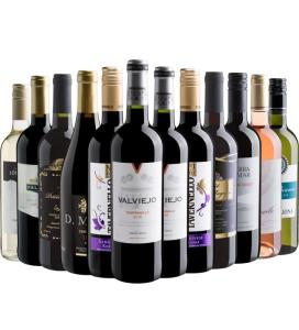 Kit de vinhos 12 por 299 da Evino - R$299