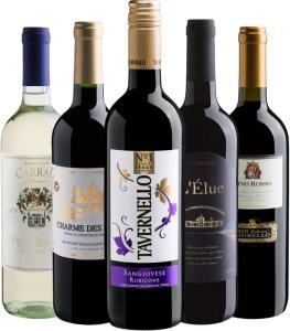Kit de vinhos 24/24/24 na Evino - R$120