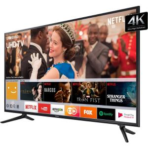 "Smart TV LED 58"" Samsung 4K/Ultra HD 58MU6120 - Conversor Digital 3 HDMI 2 USB - R$ 3514"