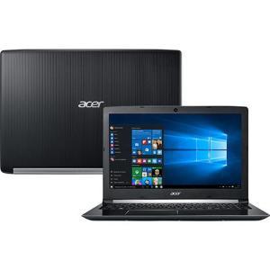 "Notebook Acer A515-51G-58VH Intel Core I5 8GB (GeForce 940MX com 2GB) 1TB Tela LED 15.6"" Windows 10 - Preto - R$ 2280"