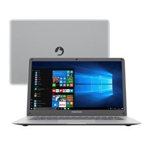 "Notebook Positivo Quad Core 2GB 32GB SSD Tela 14"" Windows 10 Motion Red Q232A  - R$809"