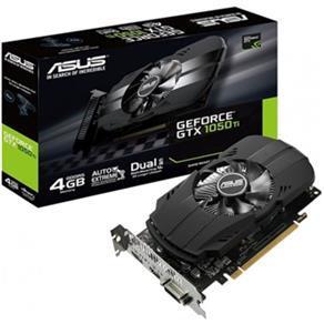 PLACA DE VÍDEO ASUS GEFORCE GTX 1050 TI 4GB PH-GTX1050TI-4G GDDR5 PCI-EXP - R$799