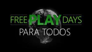 Partidas online e jogos de GRAÇA no Xbox neste final de semana!!!