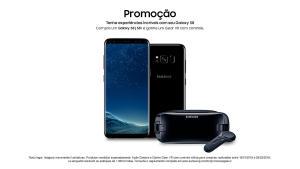 SAMSUNG GALAXY S8 PLUS AV 2.699,10 OU 2.999,00 12X S/ JUROS FRETE GRATIS + GEAR VR