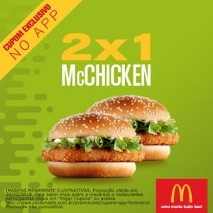 2x1 McChicken no McDonald's